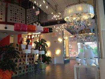 Top light illuminazione showroom